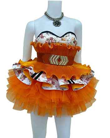 Fine pageant dress for girls and drum majors in different colors available