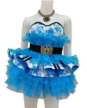 Pageant dress for girls in Blue lovely dress aalso for drum majors