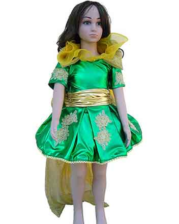 How lovely nice Girl Pageant  dress, Drum Major dress in green